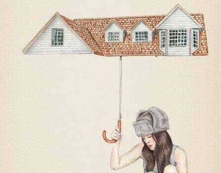 talosateenvarjo