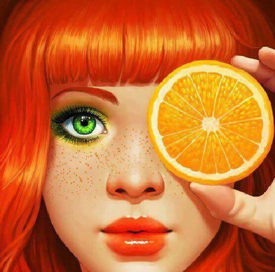 värien psykologiaa: oranssi