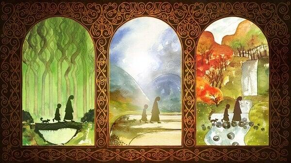 kelttiläiset maalaukset