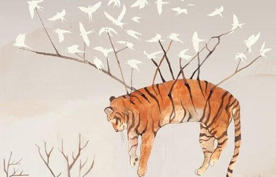 linnut kannattavat tiikeriä