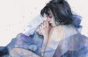naisen yleistynyt ahdistushäiriö