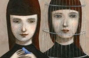 narsistisen perheen kaksi tyttöä