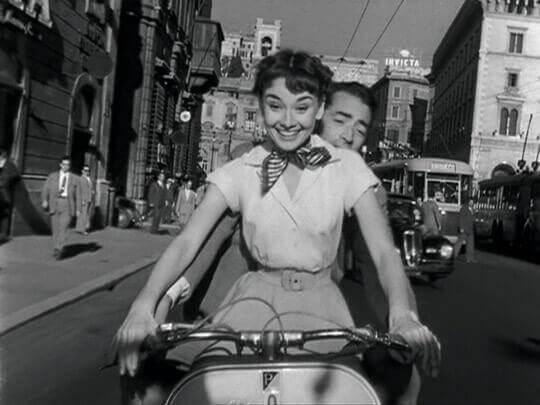 Audrey Hepburn elokuvassa