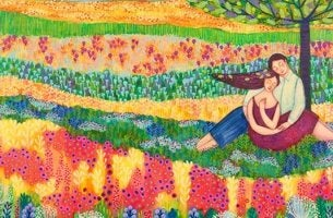 värikäs kaunis elämä