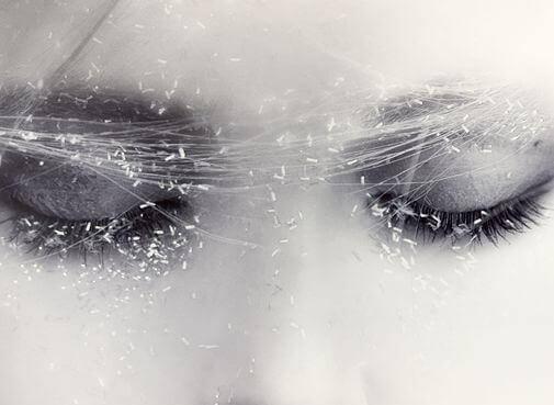 huurteiset silmät