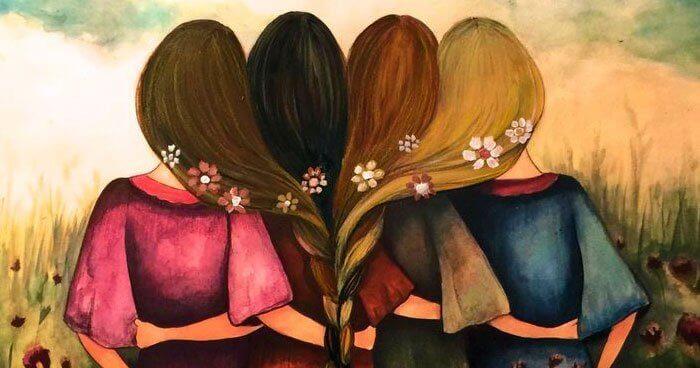 sisaruus neljän tytön välillä