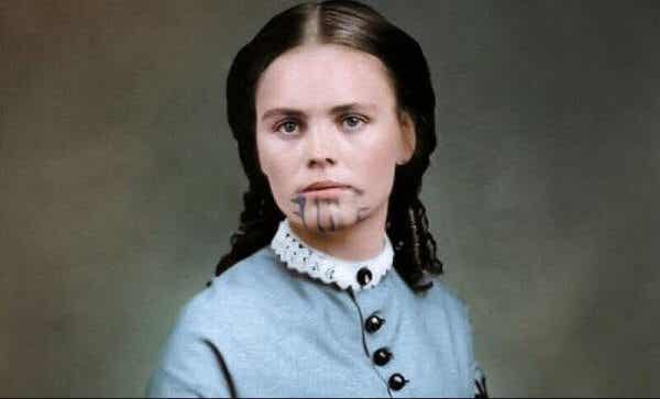 Olive Oatman – kahdesti vangittu nainen, jolla on sininen tatuointi