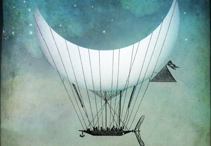 kuu on ilmalaiva