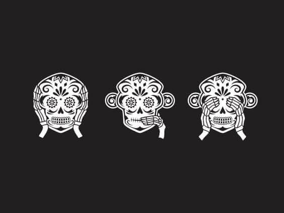 kolmen viisaan apinan tarina