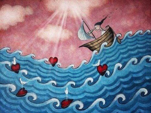 rakkauden aalloilla