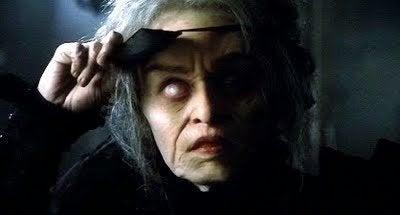 vanha nainen elokuvassa Big Fish