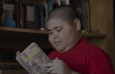 Rubén sanoi että lukeminen on lääkettä