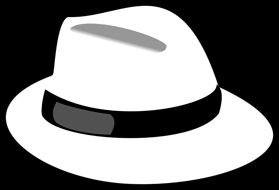 valkoinen hattu