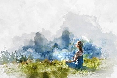 meditointi ja liikunta raittiissa ulkoilmassa auttaa särkyneen sydämen parantamisessa
