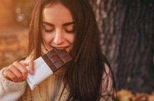 suklaa on ruokaa masennuksen hoitoon