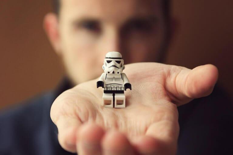 Storm Trooper -lego