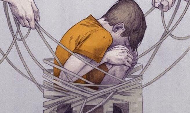 poika ja ruumiillinen rangaistus
