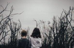 lasten masennus