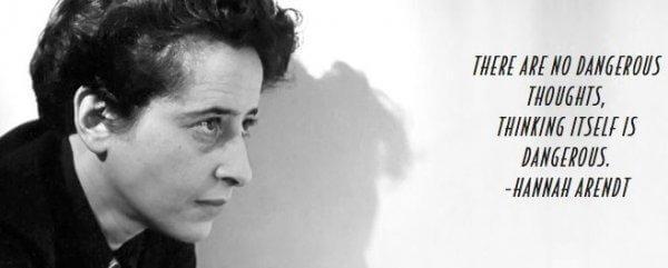 Hannah Arendt nuorempana