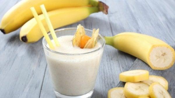 luonnolliset anksiolyytit: banaani
