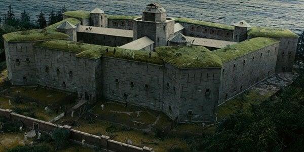 vankila elokuvassa Suljettu saari