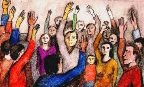 tunteet jotka johtavat väkivaltaan levittyvät ryhmissä
