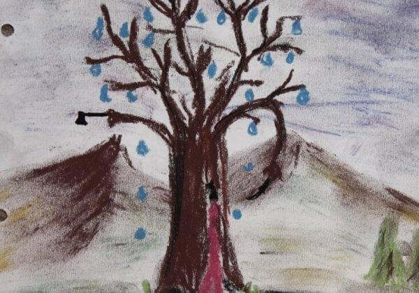 puutesti: itkevä puu