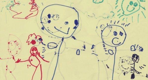 lapsen piirustus