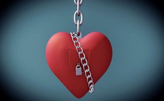 sydän on lukittu