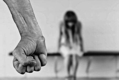 väkivallan tyypit: fyysinen tai lapsiin kohdistuva