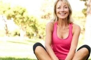 vaihdevuosien positiiviset asiat: enemmän aikaa liikuntaan