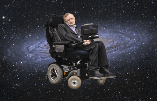 Stephen Hawking avaruudessa