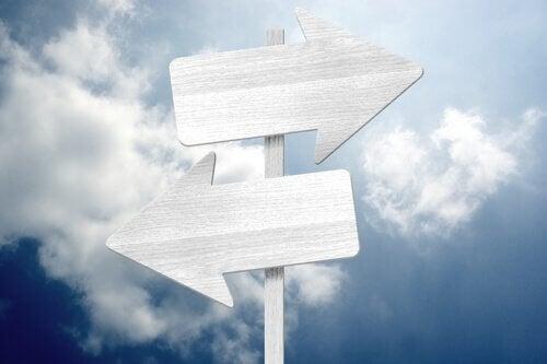tienviitta: haluamme tehdä oikean päätöksen