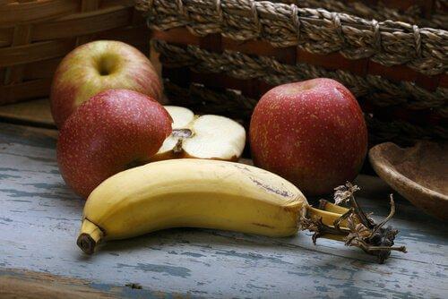 omena ja banaani: psykobiootit