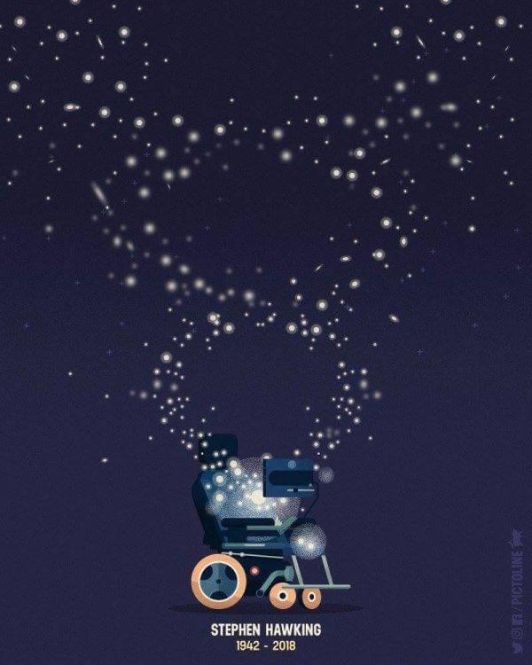 Stephen Hawkingin kuolema