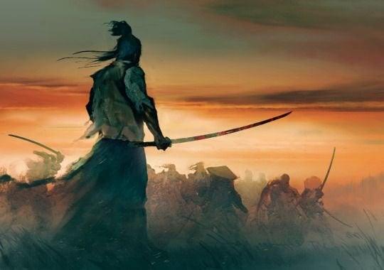samurai taistelussa