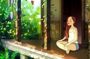 itsekseen puhuminen ja meditointi