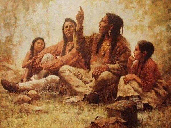 cherokeet tarinoimassa