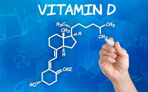 D-vitamiinin kemiallinen kaava