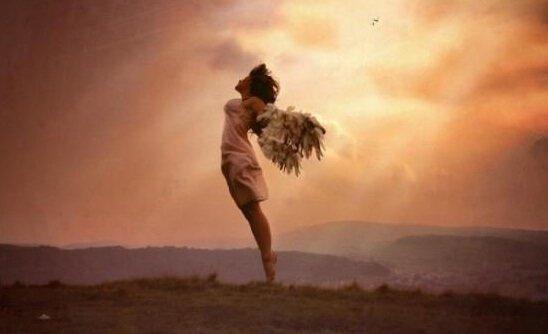nainen haluaa lentää