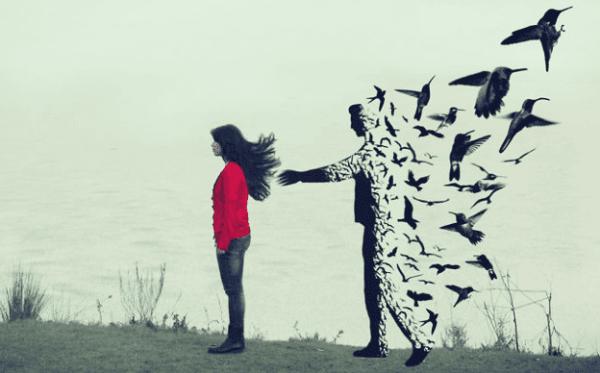 Kuinka käsitellä ero ilman selityksiä (ghosting)