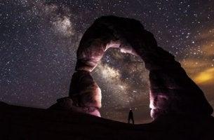 komea tähtitaivas