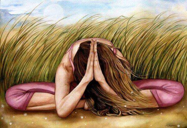naisen meditointi intuition kehittämiseen