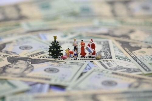 rahat ja materialistinen joulu