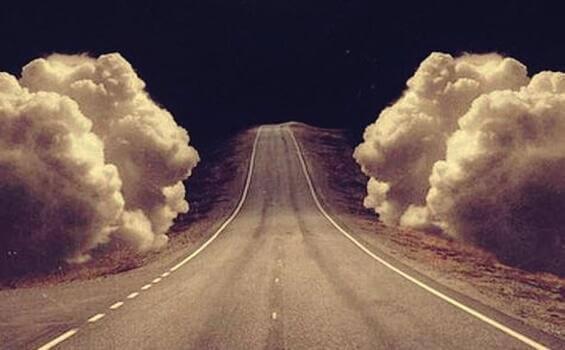 tielle työntyvät pilvet estävät kasvamasta