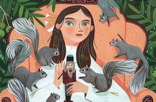 nainen ja oravat