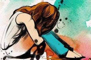 tytöllä krooninen ahdistus