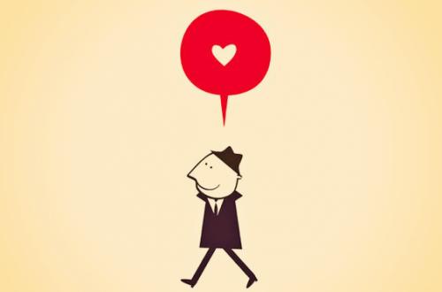 mies ajattelee rakkautta