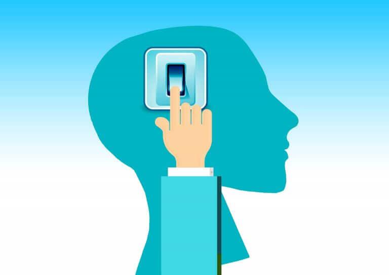 neurolingvistinen ohjelmointi: päälle-nappula aivoissa