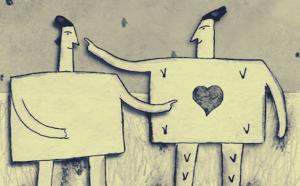 toisella on sydän, toisella ei